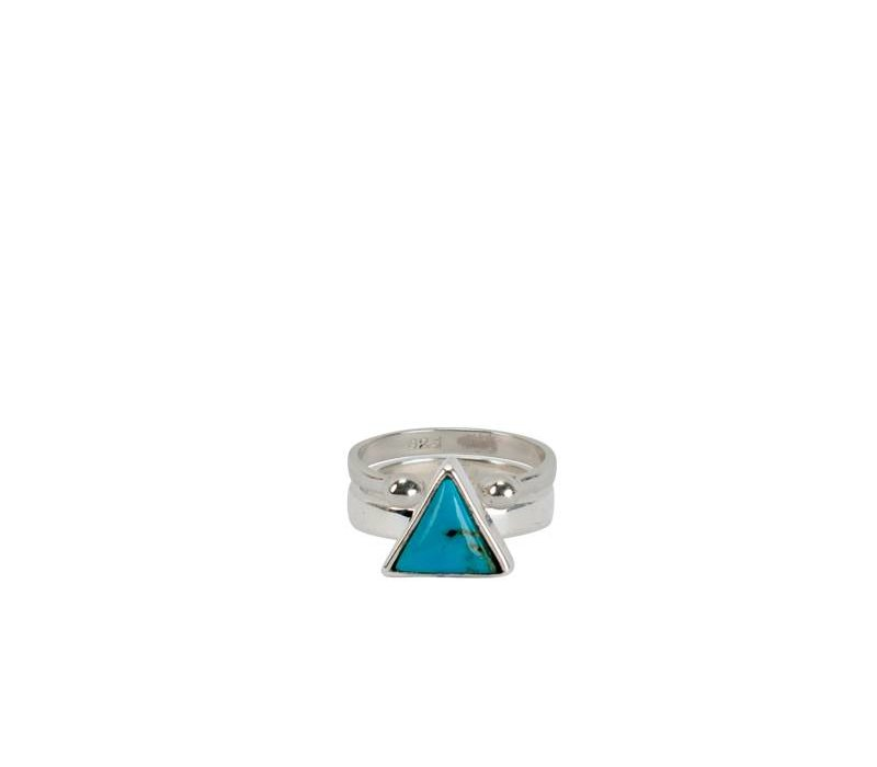 Sterling Silver Ring Sim | Turquoise