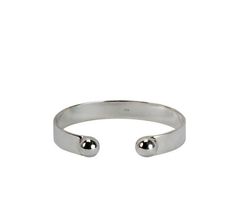 Simple & Chic, Stijlvolle Sterling Zilveren Armband Luna