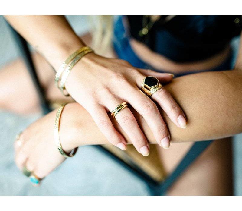 Gold Plated Bracelet Luna