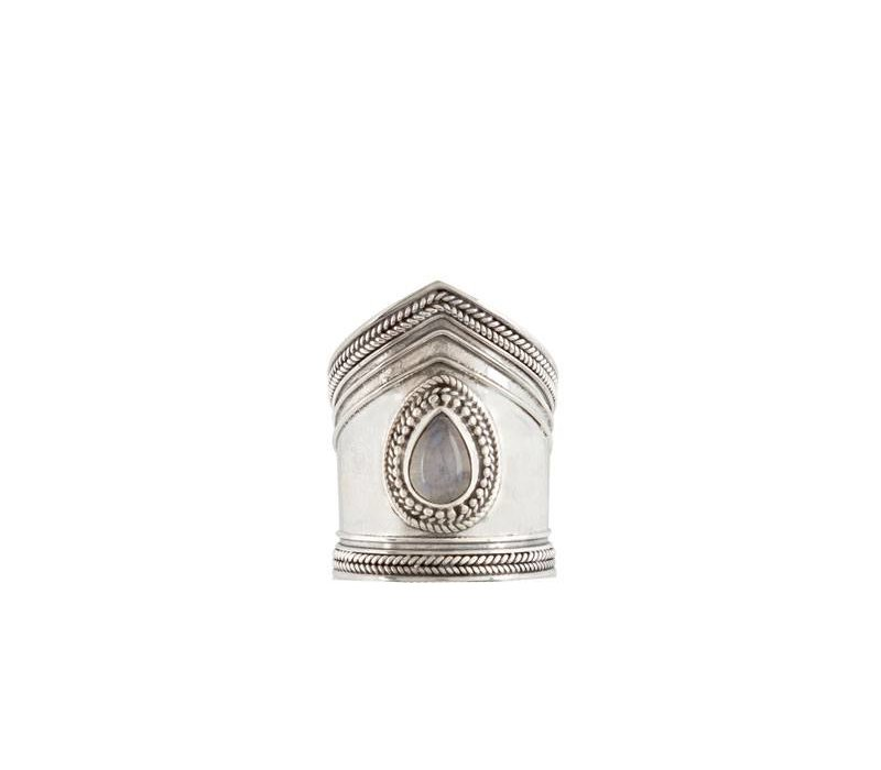 Bold Sterling Silver Ring Elvira