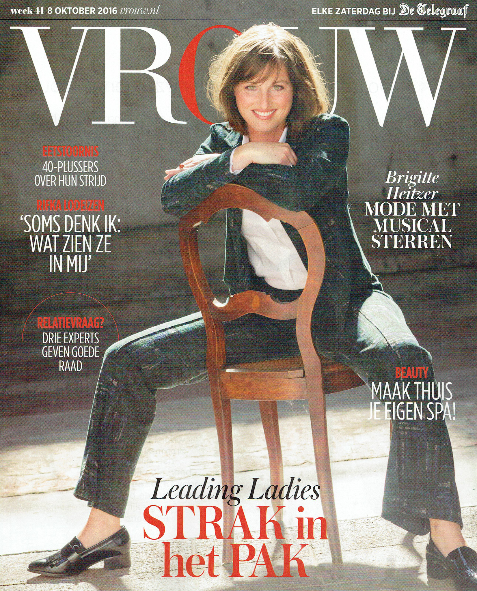 Vrouw frontpage