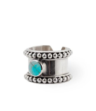 Route508 Silver Ring Cleo  | Turquoise