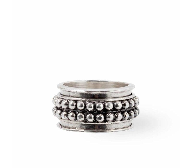 Stoere 925 Sterling Zilveren Ring Avery