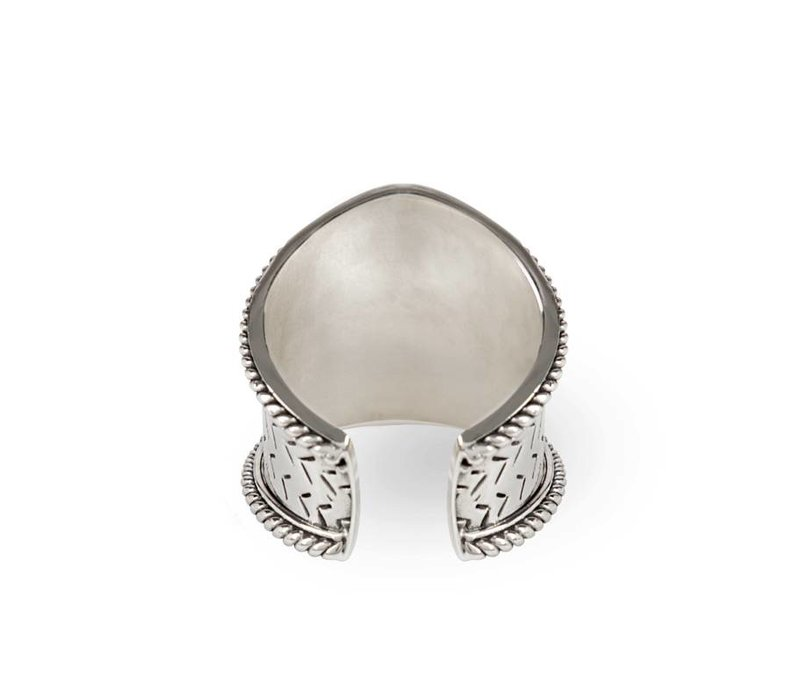 Sterling Silver Ring Aroha