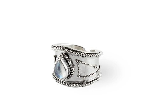 Route508 Moonstone Ring Amalia | Silver