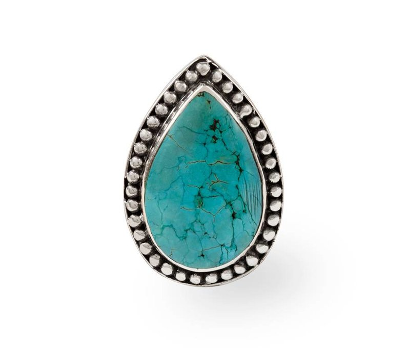 Turquoise Ring Aurora | Silver