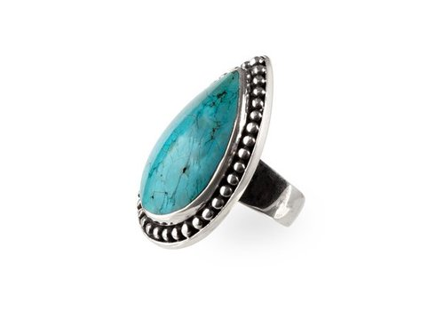 Route508 Turquoise Ring Aurora | Zilver