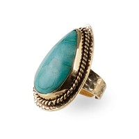 Gold Ring Delilah | Turquoise