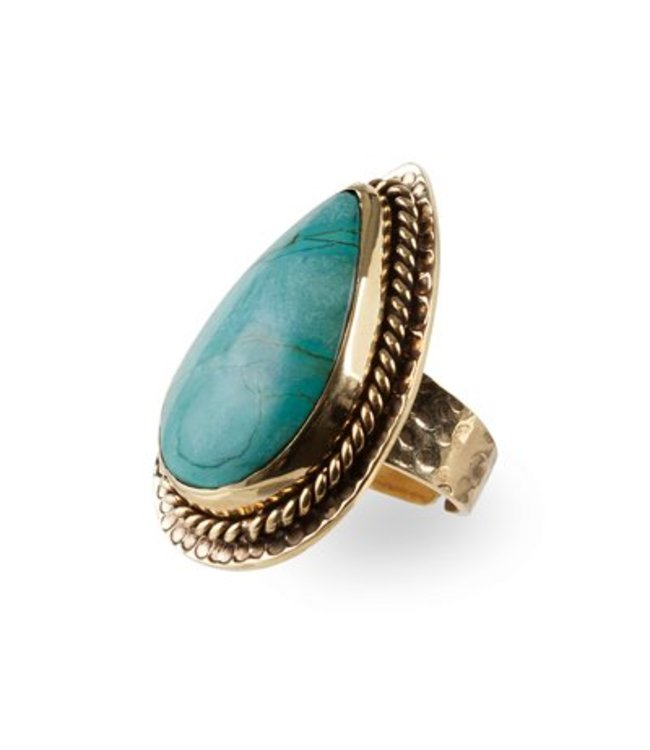 Route508 Gouden Ring Delilah | Turquoise