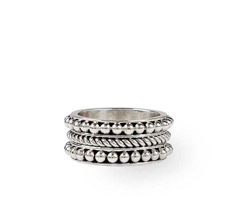 Stoere Zilveren Ring Harper