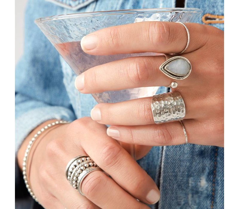 925 Sterling Zilveren Ring Sheila