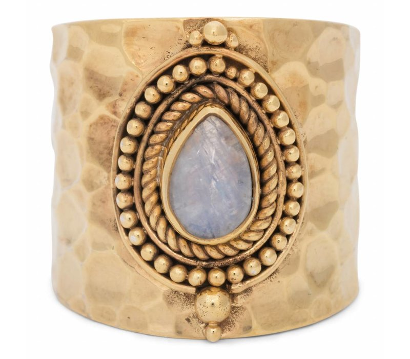 Gold Vermeil Moonstone Ring Sheila