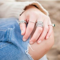 Sterling Silver Ring Avery