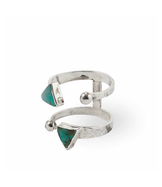Route508 Silver Ring Ryder | Turquoise