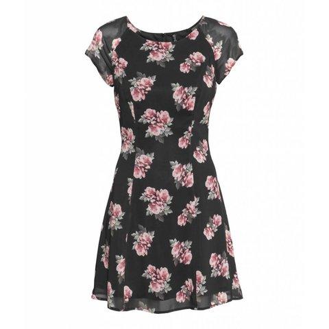 Rose covered dress