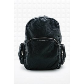 Jil Sander Black leather backpack