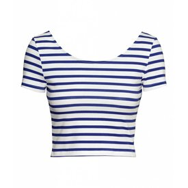 Jil Sander Striped blue top