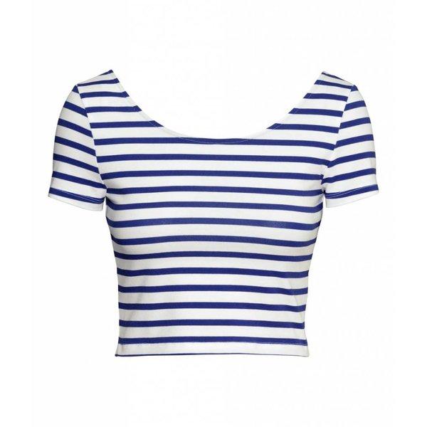 Jil Sander Striped blue top