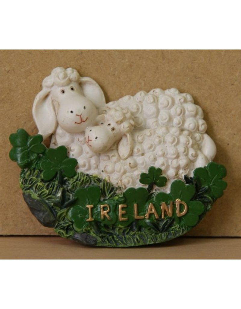 Irish Sheep Magnet A