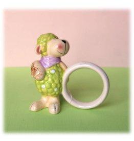 Napkin ring standing