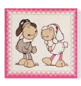 NICI Plush Picture Jolly Dean & Sue