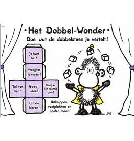 Sheepworld Ansichtkaart - Het Dobbel-Wonder