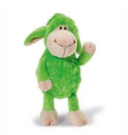 NICI Jolly Mäh groen knuffel schaap 20 cm