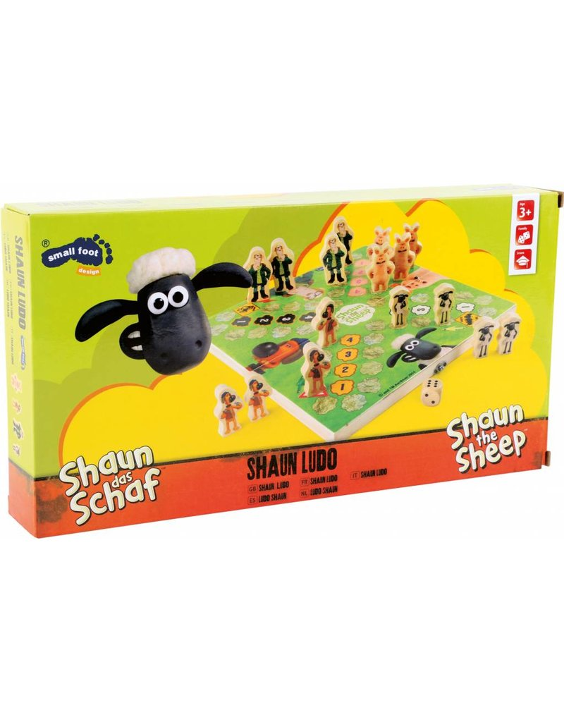 Small Foot design Shaun the Sheep Ludo