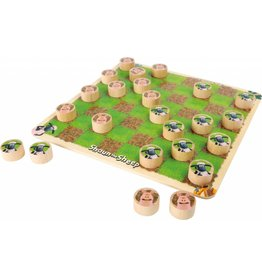 Small Foot design Shaun het schaap damspel