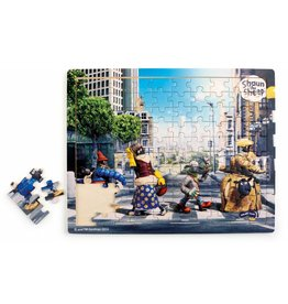 Small Foot design Shaun the Sheep Puzzle - Abbey Road