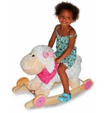 Small Foot design Rocking sheep with wheels and sound