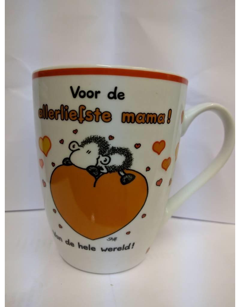 Sheepworld Beker 'allerliefste mama'