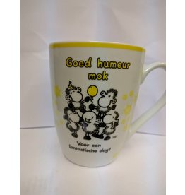 Sheepworld Beker 'goed humeur'