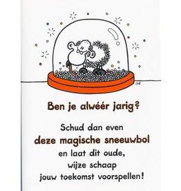 Sheepworld Verjaardagskaart - Ben je alwéér jarig?