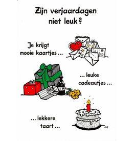 Sheepworld Birthday card sheep - Are birthdays not fun?