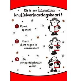 Sheepworld Schaap verjaardagskaart - Dit is een interactieve kaart!