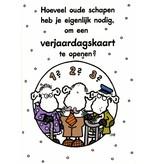 Sheepworld Birthday card sheep - How many old sheep do you need?