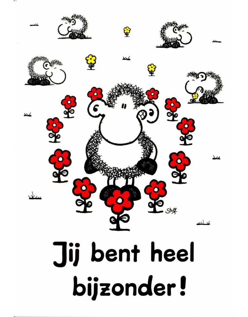 Sheepworld Birthday card sheep - You are very special!