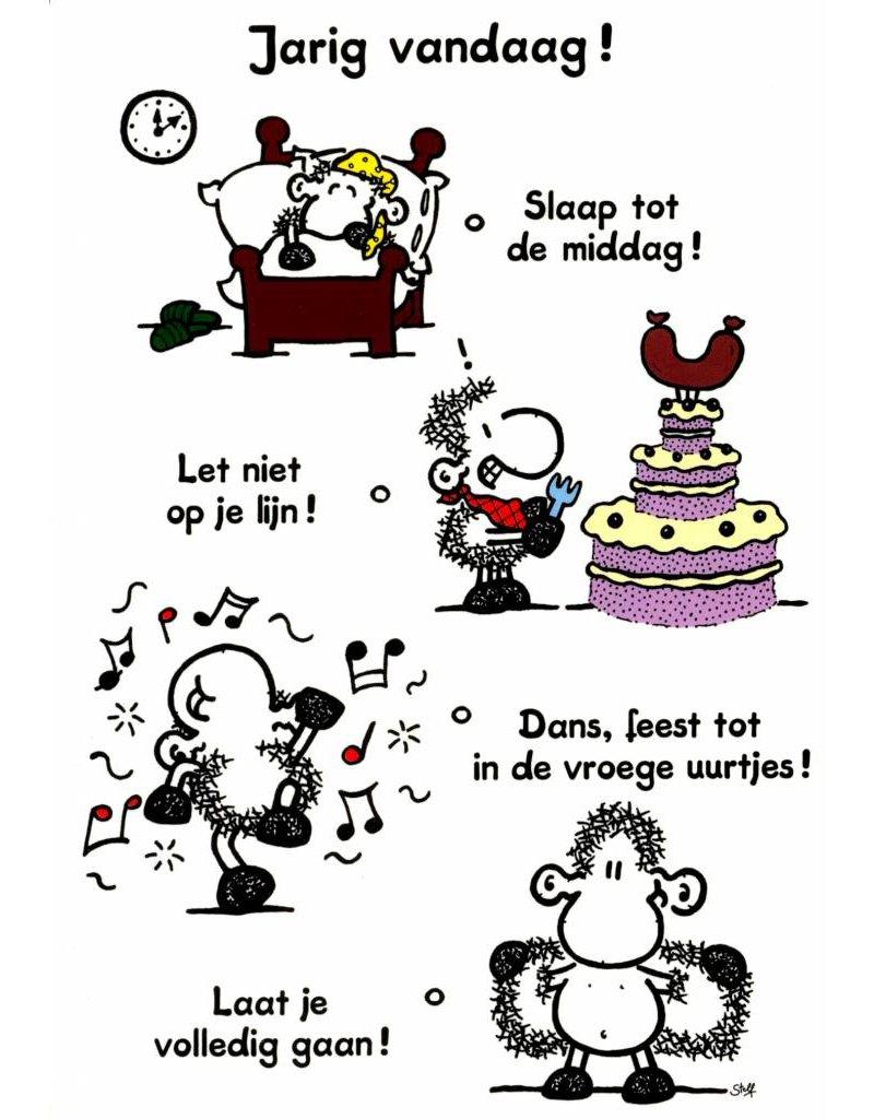 Sheepworld Birthday card sheep - Birthday today!