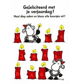 Sheepworld Schaap verjaardagskaart - Gefeliciteerd met je verjaardag!
