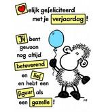 Sheepworld Birthday card sheep - Happy Birthday!