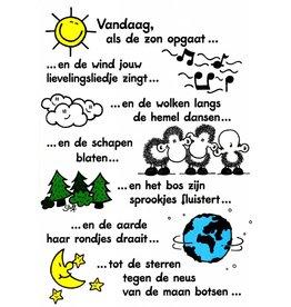 Sheepworld Schaap verjaardagskaart - Vandaag als de zon opgaat…