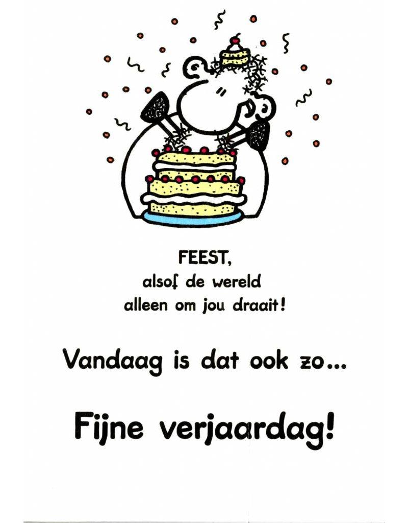 Sheepworld Birthday card sheep - You have a birthday!