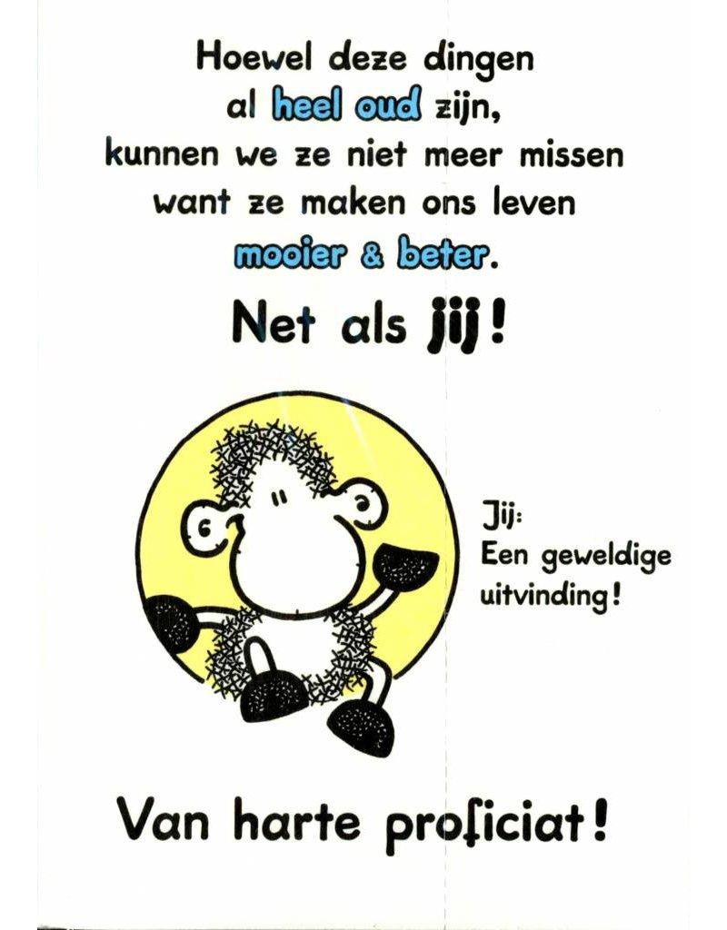 Sheepworld Birthday card sheep - Things older than you…