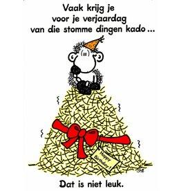 Sheepworld Schaap verjaardagskaart - Vaak krijg je voor je verjaardag...