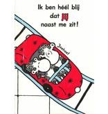 Sheepworld Schaap liefde en vriendschapskaart - Het leven is als een achtbaan!