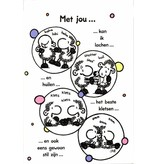 Sheepworld Love and friends card sheep - With you …