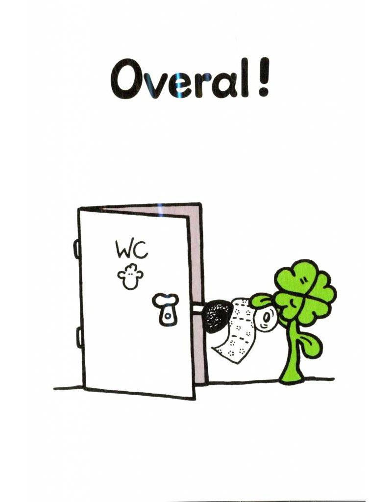 Sheepworld Schaap liefde en vriendschapskaart - Het geluk zal overal bij je zijn!