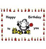 Sheepworld Birthday card sheep - Happy Birthday to you