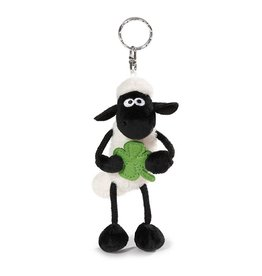 NICI Keyring Shaun the Sheep with shamrock